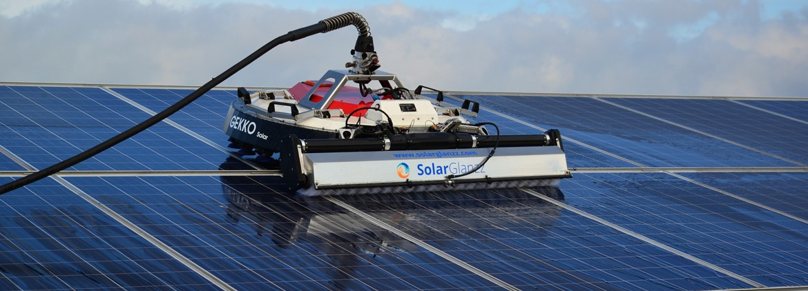 Cleaning Solar Panels With A Robot The Advantages For